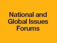 National and Global Issues Forums
